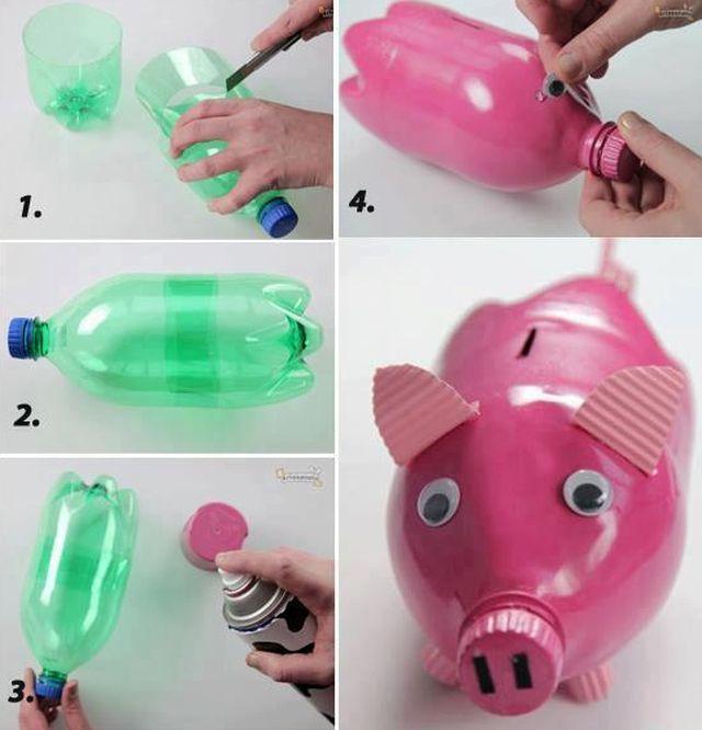 Что можно сделать из одной бутылки своими руками 920